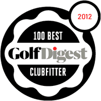 2012 Golf Digest 100 Best Clubfitter Award