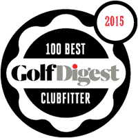 2015 Golf Digest 100 Best Clubfitter Award